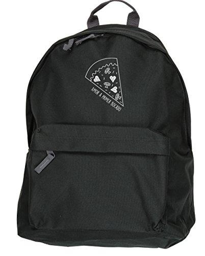 HippoWarehouse Amor a primer Bocado. kit mochila Dimensiones: 31 x 42 x 21 cm Capacidad: 18 litros Negro