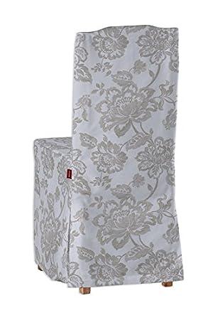 Dekoria IKEA STEFAN Housse De Chaise Lin Naturel Beige Fleurs