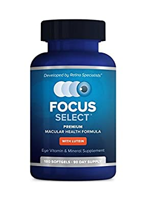 Focus Select AREDS 2 Eye Vitamin-Mineral Supplement (90 Day)