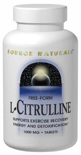Source Naturals L-citrulline 500 mg, 120 Capsules