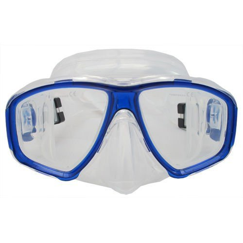 f763b2505f9 Scuba Blue Dive Mask FARSIGHTED Prescription RX Optical FULL Lenses