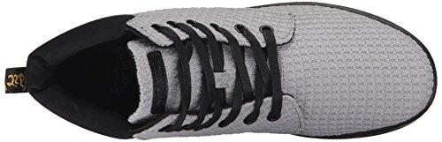 Collar Boot Grey Padded Black Mid Womens Dr Wc Maelly Martens wYxCX8gq6