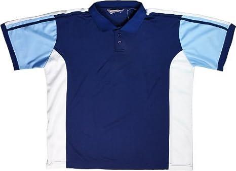 Para hombre Polo diseño de camiseta de manga corta 2 colores ...
