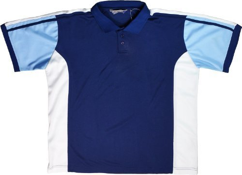 Para hombre Polo diseño de camiseta de manga corta 2 colores grandes  tamaños 2 X L 3 X L 4 X L 5 X L Azul azul marino  Amazon.es  Ropa y  accesorios e1f2e5a835acf