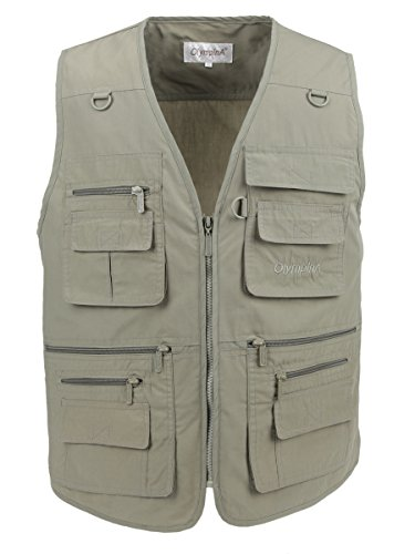 Lusi Madam Men S Poplin Outdoors Travel Sports Pockets Vest