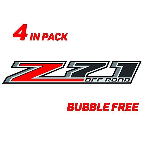 GOLD HOOK Z71 Off Road Decal | Replacement Sticker | Chevy Silverado | GMC Sierra | Truck 4x4