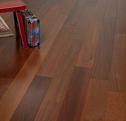 Brazilian Walnut Prefinished Engineered Wood Flooring, Sample, by Hurst -
