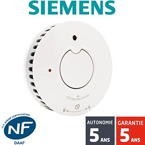 siemens - Détecteur de fumée NF Autonomie et Garantie 5 ans Delta Reflex 5TC1292-1 product image