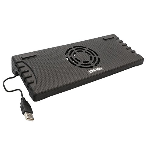 Syba SY-NBK68010 Notebook Cooling Stand with Fan for 9-Inch