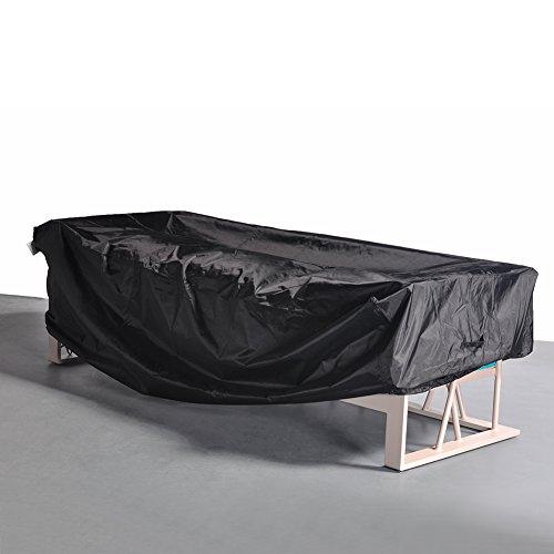 Outdoor Patio 4 Seat Sofa Waterproof Rectangular Cover 88Lx34Wx33H black