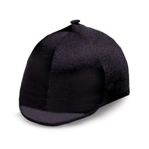 (Perri's Velvet Helmet Cover, Black, One Size)