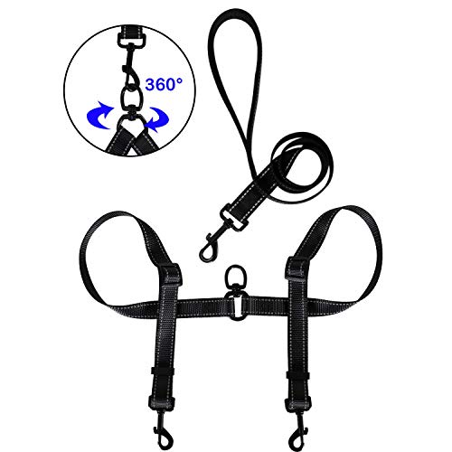 Amazon Com Tacobear Dual Dog Leash For Two Dogs No Tangle Coupler