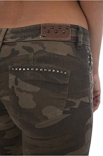 Les Loka Stretch Pantalon Verts Camouflage Kaporal 6HwCzgx4xn