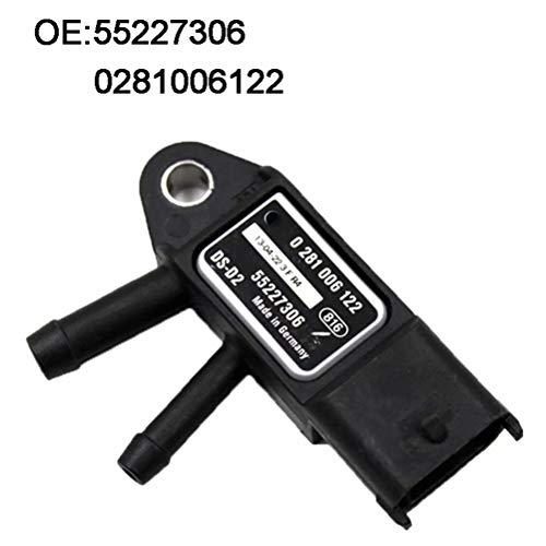 Diesel DPF Boost Exhaust Gas Pressure Sensor 0281006122 55227306 For Alfa: