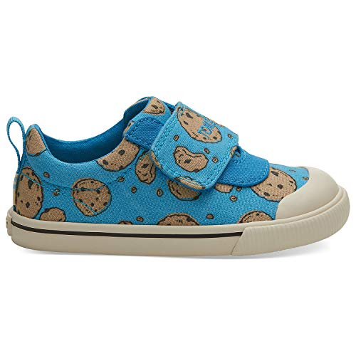 (TOMS Sesame Street X Cookie Monster Tiny Doheny Sneakers 10013633 (Size: 9))
