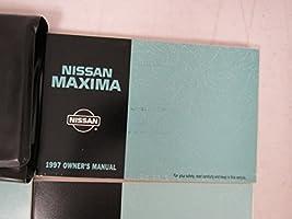 1997 maxima owners manua