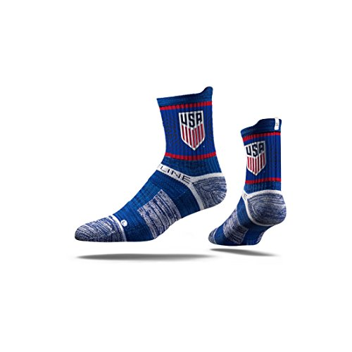 MLS US Soccer MLS Mid-Calf Socks , Officially Licensed Us Soccer Athletic Fan Socks. The Most Comfortable Sock On Earth. From Strideline. Loved By Soccer Fans Across Thes, Team Color