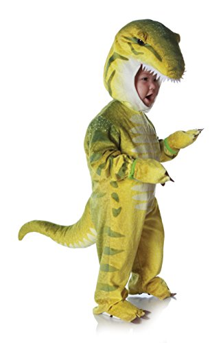 Underwraps Costumes Baby Toddler's T-Rex Costume Jumpsuit, Green, Large (2T-4T)