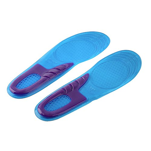 Dr.Pedi Sport Insole Gel Massaging Insole for Arch Support Orthopedic and Plantar Fasciitis Running Silicone Insole Shoes Insert (Women Ortho Slippers)