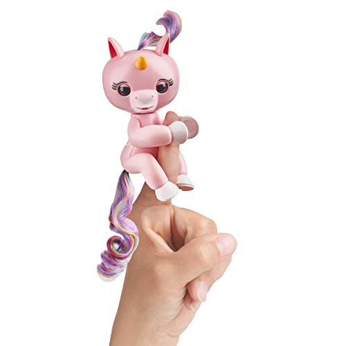 WowWee Fingerlings Interactive Baby Unicorn Puppet, Gemma (Pink)