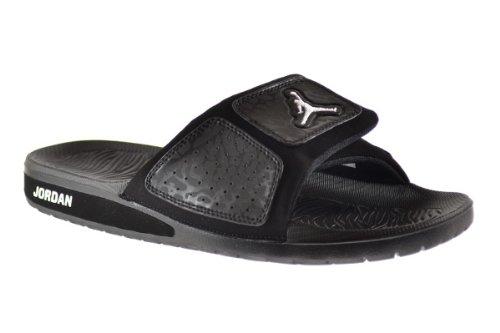 6fa3a9d6bac439 Jordan Hydro 3 Men s Slides Black White 630754-011 (8 D(M) US) - Buy ...