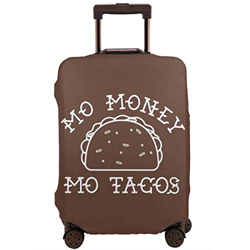 Mo Money Mo Tacos Travel Suitcase Protector Zipper Suitcase Protector Bag Baggage Suitcase Protector Cover Fit 18-32 Inch