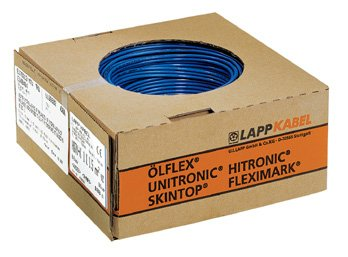 100 Meter Lapp 4510143 H05V-K 1X1 dunkelblau PVC-Aderleitung