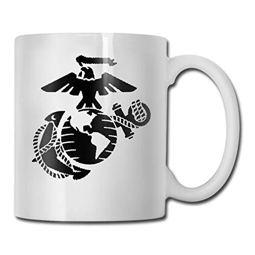 usmc coffee mug black - 6