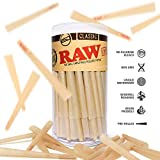 RAW Cones Classic King Size | 100 Pack | Natutal
