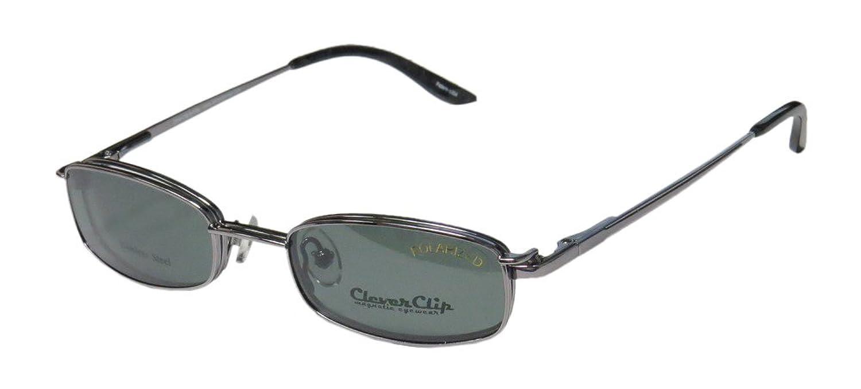 New & Season & Genuine - Brand: Elite Eyewear Style/model: Clever Clip 012 Gender: Mens/Womens Rx Ready For Adults Designer Full-rim Spring Hinges Sunglass Lens Clip-Ons Eyeglasses/Eye Glasses