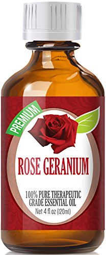 Best Rose Geranium Oil - 100% Pure Rose Geranium Essential Oil - 120ml