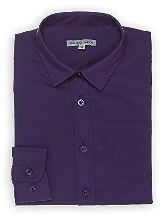 Paisley of London, niños Morado Camisa, Infantil Camisas, 6 Meses ...