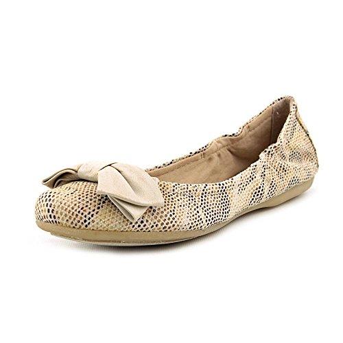 Bare Traps Lucy Flats Women's Shoes Stone Canvas 8 M