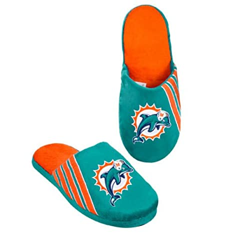 Amazon.com   Forever Collectibles Miami Dolphins Stripe Logo ... a3bc32733aec