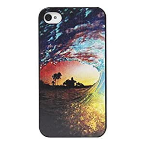 Buy Boiling Tide Pattern Back Case for iPhone 4/4S