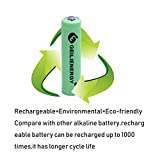GEILIENERGY NICD AA Batteries for Solar Light