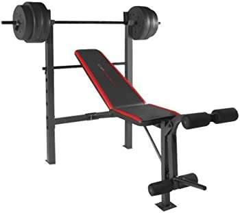 CAP Barbell Weight Benches w/ 100-Pound Weight Set