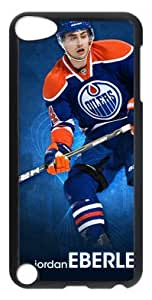 LZHCASE Personalized Protective Case for iPod Touch 5 - NHL Edmonton Oilers #14 JORDAN EBERLE
