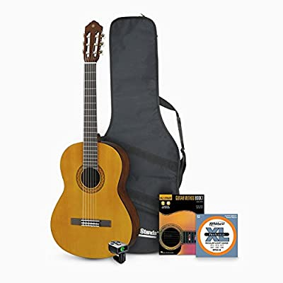 Yamaha C40II Classical Guitar with Accessories Bundle
