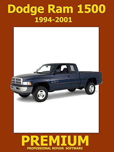 Dodge Ram 1500 Repair Software (DVD) 1994 1995 1996 1997 1998 1999 2000 2001