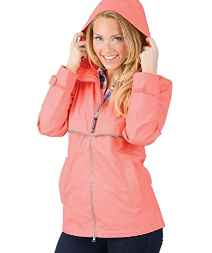 Charles River Apparel Women's New Englander Rain Jacket. (Performance Rain Jacket)