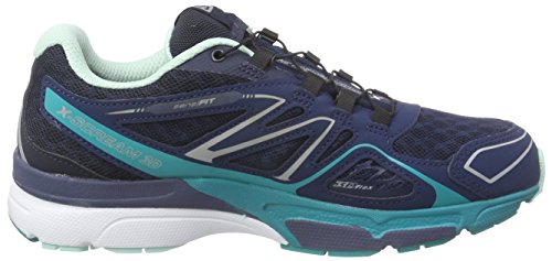 X 3d Damen scream Teal Blue Deep Blau Salomon Gtx Blue F Traillaufschuhe Slateblue xwfSxq