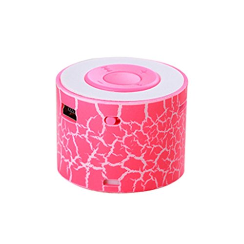 Longay Wireless Speaker Bluetooth Mini Speakers Led Colored