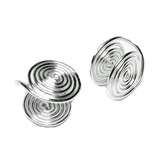 pped Clip-on Earrings about 12mm Handmade in USA by Earlums ()