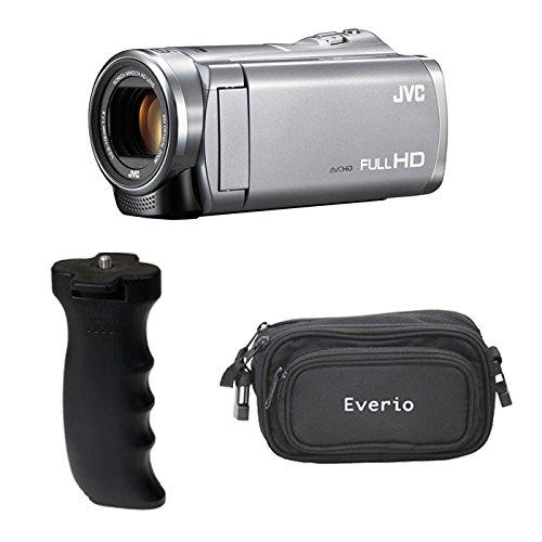 JVCケンウッド Everio GZ-E880-S ビデオカメラ シルバー&EM-L5000BGP&バッグ ビデオカメラ GZ-E880-S B07DN56HBR B07DN56HBR, サクマチ:16eecda5 --- itxassou.fr