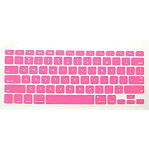 Waterproof Silicone Keyboard Cover for MacBook Pro (Pale Pink)