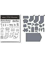 Christmas Hallowmas Flower Clear Cutting Dies and Stamp Sets, Dies and Stamps for DIY Scrapbooking Cards, Seal Scrapbook Photo Album Paper Card Craft Supplies