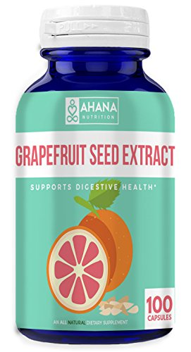 Ahana Nutrition Grapefruit Seed Extract – Derived from 3,600mg of Grapefruit Seed with 4:1 Extract Strength – Antioxidant Support, Maintains A Healthy Immune System & Aids Inflammation