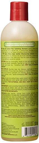 ORS Shampoo Olive Oil Sulfate-Free Hydrating 12.5oz (11184)
