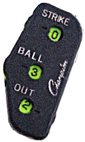 3 Wheel Umpire Indicator - Champion Sports Umpire Indicator, Black
